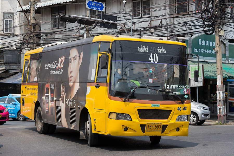 Autobus à Bangkok