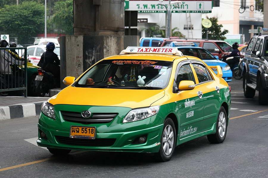 Taxi-meter à Bangkok