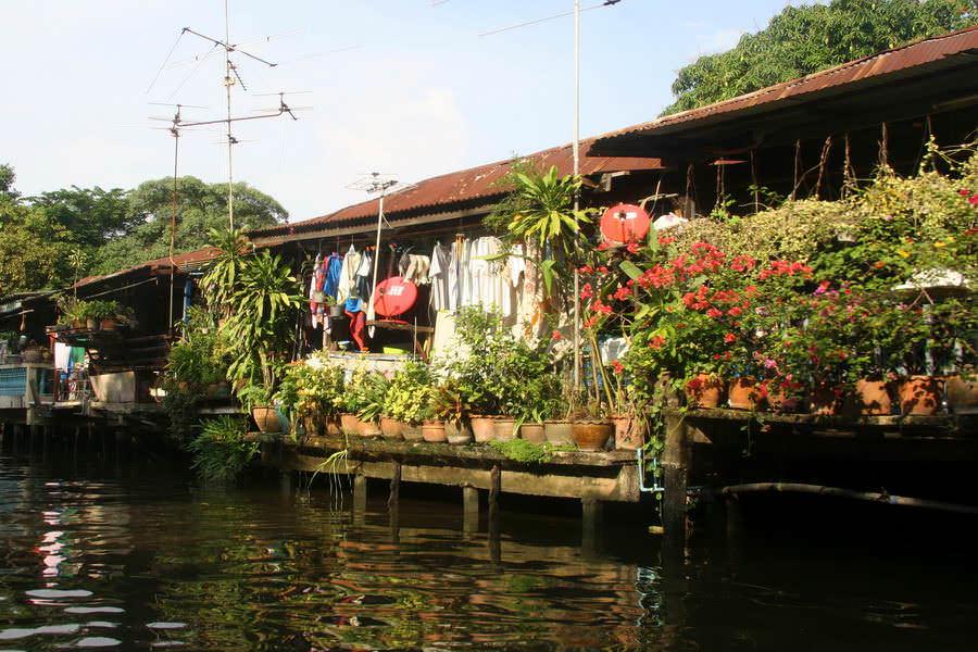 Chao Phraya et canaux de Bangkok