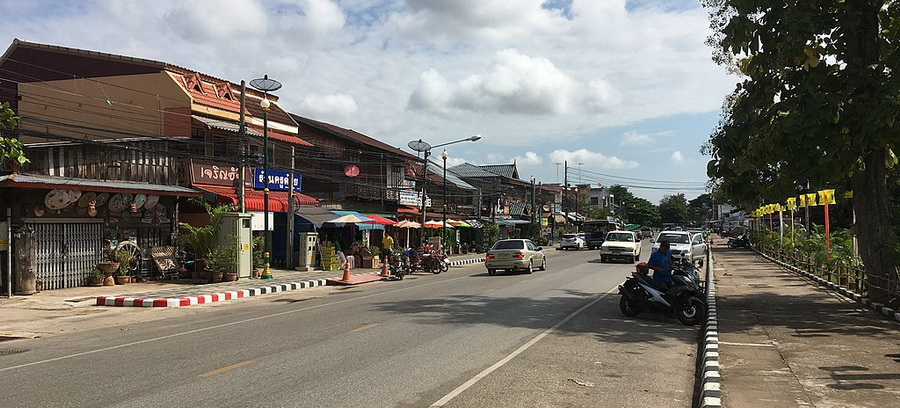 Se rendre à Sukhothai