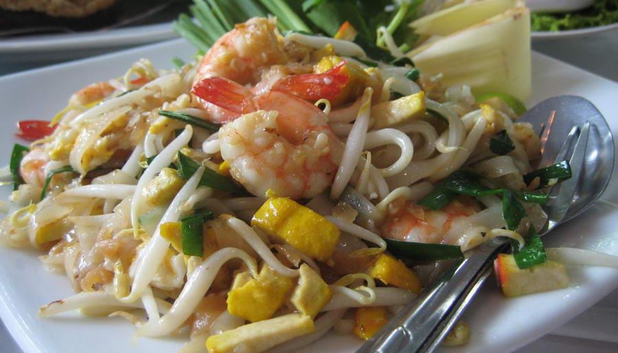 Préparation de la cuisine thaïe