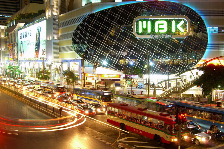 Shopping à Bangkok