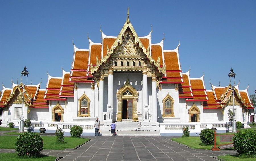Wat Benchama Bophit (Le Temple de Marbre)