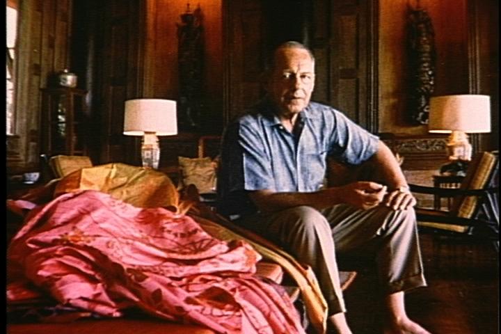 Jim Thompson et sa passion pour la soie tissée à la main