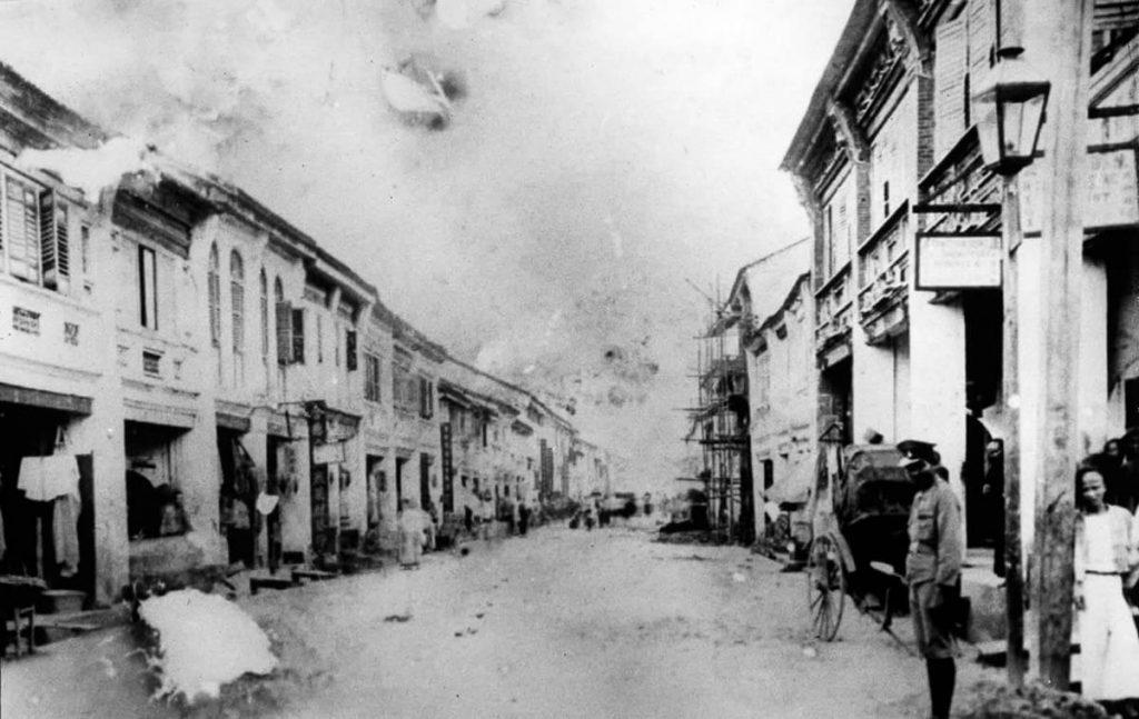 Thalang Road en 1903
