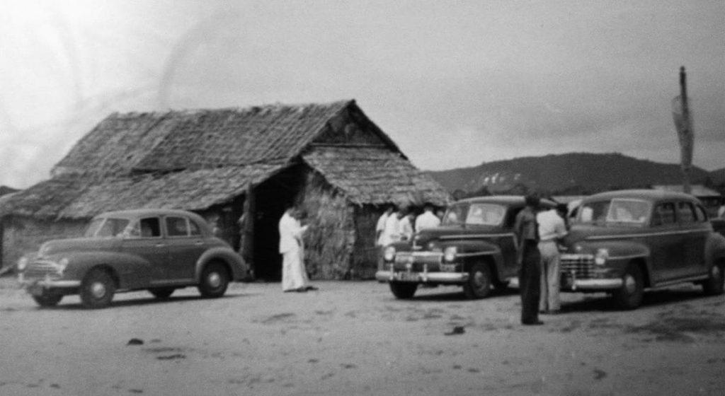 L'aéroport de Phuket dans les années 1950.